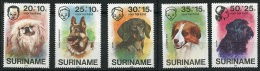 Suriname Yv 660/4  XX Neufs - Chiens -