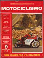MOTOCICLISMO - 9 Settembre 1971 - Moteurs