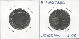 A5 Jordan 5  Piastres 2008. - Jordanie