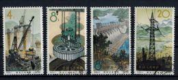 "VR China 1964 ""Wasserkraftwerk, Xinanjiang"",  MiNr.  834-837 - 1949 - ... Volksrepublik"