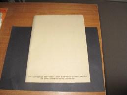 """Raymond SIMONIN - Bois Gravé - """" Nancy La Porte De La Craffe """". 1982-111/300 - 37e Et 35e Congres De Comptables - Programmes"""