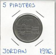A3 Jordan 5  Piastres 1996. - Jordanie