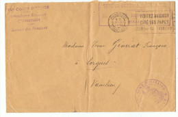 Tampons    Militaires   Sur   Enveloppe    1931 - 1921-1960: Modern Tijdperk