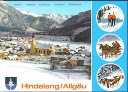 A7 Hindelang – Allgau - Renne, Rendier, Reindeer - Cavalli Horses Chevaux Caballos Pferd / Studio Tanner / Non Viaggiata - Hindelang