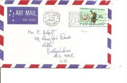 AAT ( Lettre Par Avion De 1984 Vers La Grande-Bretagne à Voir) - Briefe U. Dokumente
