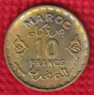 1 PIECE MAROC MAROCCO 10 FRANCS 1371 (N°13) - Maroc
