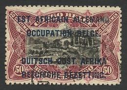 Belgian Occupation, 50 C. 1916, Sc # N22, Mi # 6, Used. - Colony: German East Africa