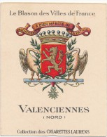 Cigarettes Laurens - Blason Des Villes De France - Valenciennes (59) - Autres