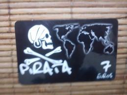 Pirata Prepaidcard Spain 7 Euros - Espagne