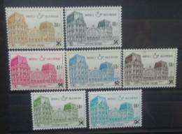 BELGIE   Spoorweg 1971    TR  416 - 422   Wit Papier + 150 %       Postfris **     CW  50,00 - 1952-....