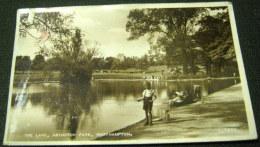 England The Lake Abington Park Northampton G7992 - Valentine's - Used - Northamptonshire