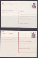 Berlin Chilehaus Hamburg  Postal Stationery 2 Diff. Cards Unused (21738) - [5] Berlijn