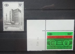 BELGIE   Spoorweg 1968-72    TR  423 + TR  399        Postfris **     CW  8,75 - 1952-....