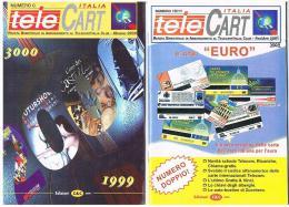 TELE CART ITALIA  - BIMESTRALE GRATUITO PER I SOCI TELECART ITALIA CLUB - EDIZIONI  C & C (LEGGERE DESCRIZIONE) - Telefonkarten