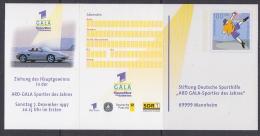 Germany 1997 Stiftung Deutsche Sporthilfe Gala Postal Stationery Unused (21738) - [7] West-Duitsland
