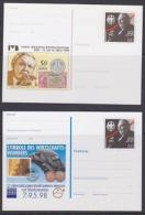 Germany 1998 Ludwig Erhard 2 Diff.  Postal Stationery Unused (21741) - [7] West-Duitsland