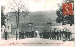 SAINT ETIENNE ... 5eme BATAILLON DE CHASSEURS A PIED ... SORTIE DU QUARTIER - Unclassified
