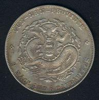 China - Yunnan, 50 Cents (1909-1911), Silber - Cina