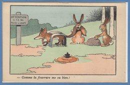 ILLUSTRATEURS -- RABIER  B. -- Comme La Fourrure Me Va Bien - Rabier, B.