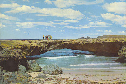 A91 Aruba ( ANTILLE ) - The Natural Bridge - ED. DEXTER / USED 1971 - Aruba