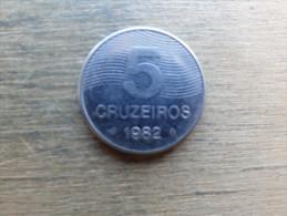 Bresil  5  Cruzeiros  1982  Km591 - Brazil