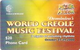 *DOMINICA* - Scheda Usata - Dominica