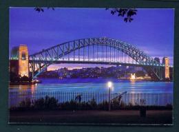 AUSTRALIA  -  Sidney  Harbour Bridge  Unused Postcard As Scan - Sydney