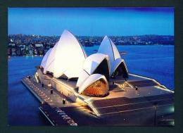 AUSTRALIA  -  Sidney  Opera House  Unused Postcard As Scan - Sydney