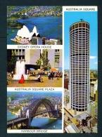 AUSTRALIA  -  Sidney  Multi View  Unused Postcard As Scan - Sydney