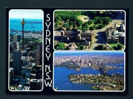 AUSTRALIA  -  Sidney  Multi View  Used Postcard As Scans - Sydney