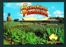 AUSTRALIA  -  Nambour  Sunshine Plantation  Used Postcard As Scans - Australia