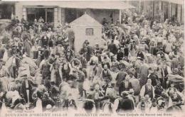 MONASTIR (SERBIE) SOUVENIR D'ORIENT PLACE CENTRALE DU MARCHE AUX GRAINS (BELLE ANIMATION) 1918 - Macédoine