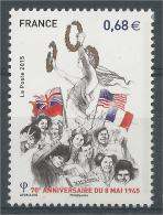 France, 8 May 1945, VE Day, 2015, MNH VF - Francia