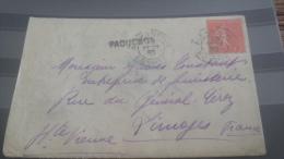 LOT 258316 TIMBRE DE FRANCE OBLITERE CACHET ALEXANDRIE PAQUEBOT RARE