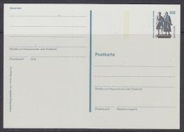Germany 1997 Goethe Schiller Denkmal Weimar Postal Stationery Unused (21743) - [7] West-Duitsland