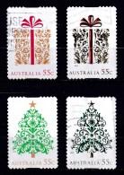 Australia 2013 Christmas 55c Self-adhesives - Normal & Embellished Used - Used Stamps