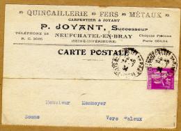 Quincaillerie Fers Métaux Neufchatel-en-Bray Vers Paleux