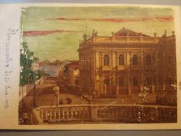 !! Cpa Postcard BRAZIL - Brésil- 1907 !!!Handcoloured FLORIANOPOLIS Animated View - Otros