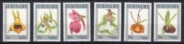 Suriname Yv 934/9 XX Neufs - Fleurs -