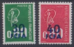 REUNION  N**  429 430  MNH - Réunion (1852-1975)