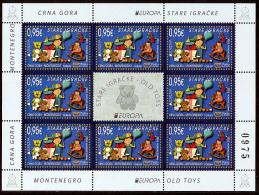 """MONTENEGRO/Crna Gora EUROPA 2015 """"Old Toys"""" Sheetlet** - 2015"""