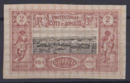 COTE DES SOMALIS  Neuf Sans Gomme 7 - Costa Francese Dei Somali (1894-1967)