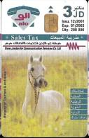 jordan phone card : horses