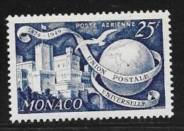 MONACO AERIENS  -  N°  45  -   75E ANNIVERSAIRE  UPU  -  NEUF   - 1949 - Nuevos