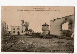 54 - ENVIRONS DE LUNÉVILLE . LA FAISANDERIE APRÈS LE BOMBARDEMENT ET L'INCENDIE - Réf. N°9071 - - Luneville