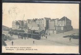 Cpa Wenduyne   Tram Vapeur  1906 - Wenduine