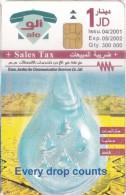 jordan phin cards : 1990 -2003 - jordan  water saving
