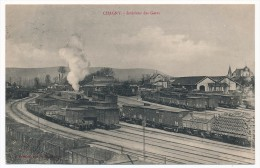 CPA - CHAGNY (Saône Et Loire) - Intérieur Des Gares - Chagny