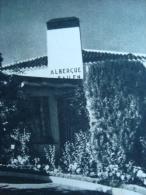 DGT Albergues De Carretera Hotel Tarjeta Postal España Vintage Original Postcard Cpa Ak (W4_1063) - Hoteles & Restaurantes