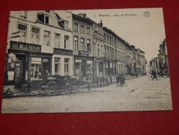 WAVRE  -  Rue De Nivelles  -  1914   -  (2 Scans) - Waver